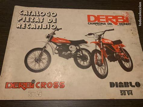 Catálogo de piezas de recambio derbi cross y di   Vendido ...