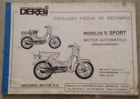 catalogo de piezas de recambio original derbi v   Comprar ...