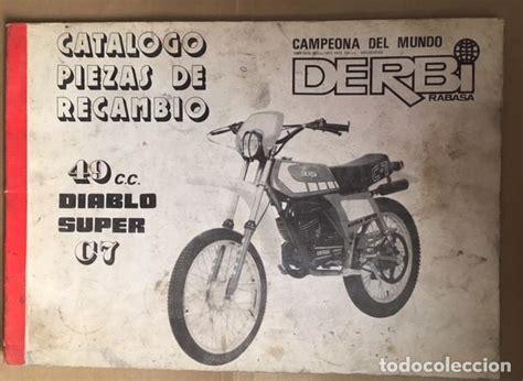 catalogo de piezas recambio original derbi diab   Comprar ...