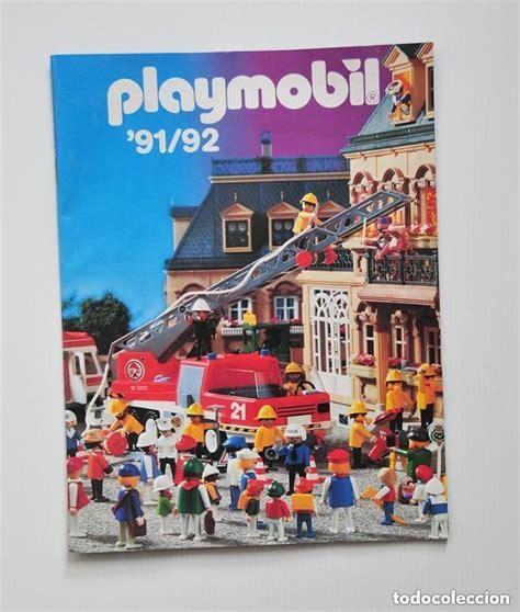 Catalogo de playmobil 91 92 de 36 paginas y 199   Vendido ...