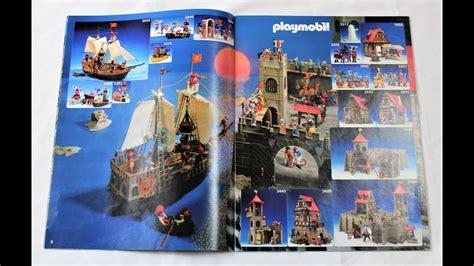 Catálogo de Playmobil: Año 1987/1988   YouTube