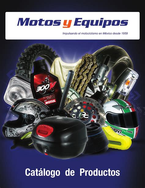 Catálogo de Productos   Motos y Equipos by Motocicletas y ...