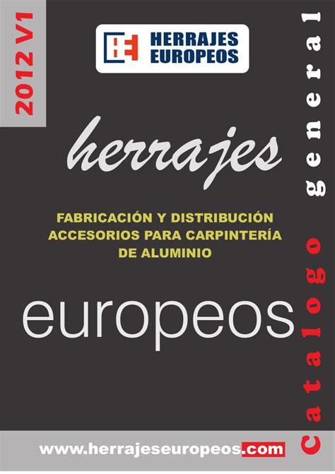 /Catalogo_Herrajes_Europeos by Cazalla Checa   Issuu