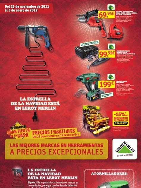 Catalogo herramientas leroy merlin | Perforar | Naturaleza