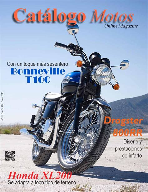 Catálogo Motos # 12 by Revista MOTORats   Issuu