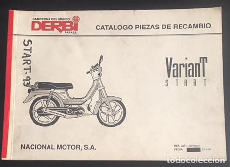 catalogo original de piezas de recambio derbi v   Comprar ...