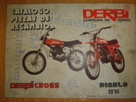 Catalogo piezas de recambio derbi cross 50 v4 y   Vendido ...