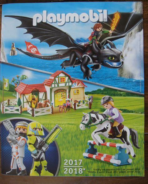 Catalogue Playmobil Benelux 2017 2018 Katalog Catalog | eBay
