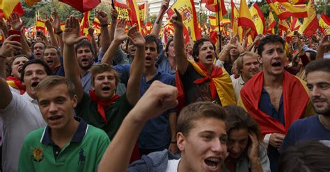 Catalonia Separatism Revives Spanish Nationalism   The New ...