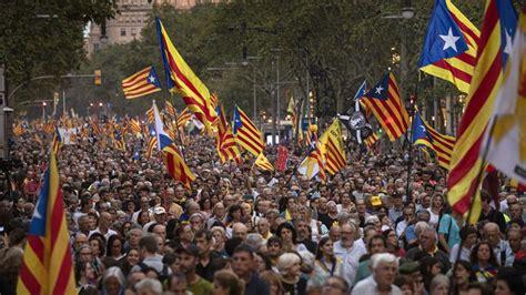Cataluña, última hora del aniversario del 1 O