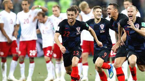 Catch up: Fifa World Cup last 16   Croatia v Denmark ...
