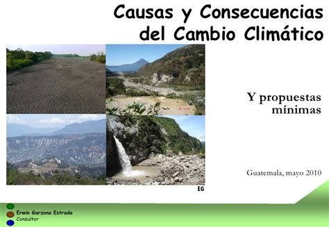 Causas y consecuencias cambio climático, 2010