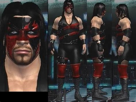 CAWs.ws Kane  Half Masked Attire  CAW for SD! vs RAW 2007