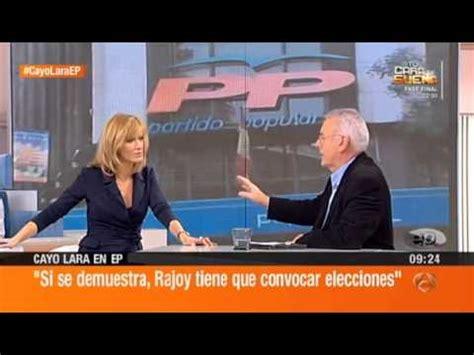 Cayo Lara en el programa  Espejo Público , de Antena 3 TV ...