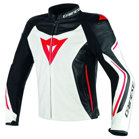 Cazadoras Dainese ASSEN LEATHER PERFORATED   Cazadoras y ...