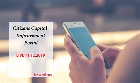 CCIP to go live 11/12/19 | LawtonOK.gov
