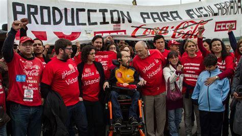 CCOO denuncia que Coca Cola Iberian Partners no está ...