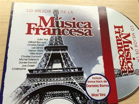 Cd. Lo Mejor De La Música Francesa   Inconseguible. Remate ...