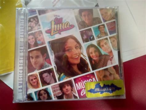 Cd Soy Luna: Musica En Ti Varios Disney 2016 2do Disco ...