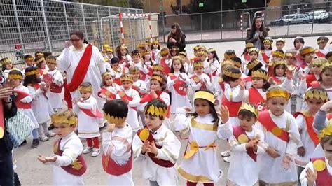 CEIP Santo Tomás de Villanueva   Baile Dioses Infantil ...