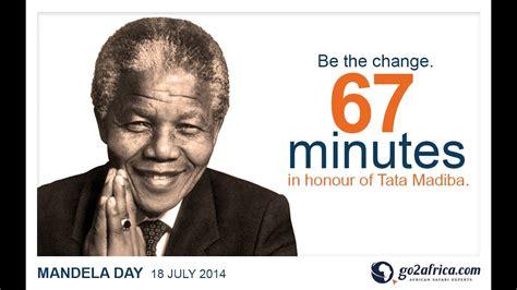 Celebrating Nelson Mandela Day: 18 July 2014   YouTube