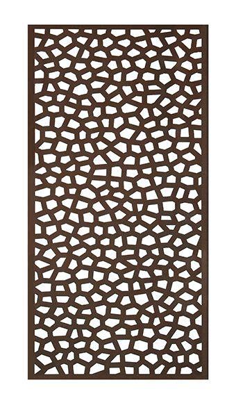 Celosía óxido mosaic 100 x 200 cm Ref. 16723742   Leroy ...