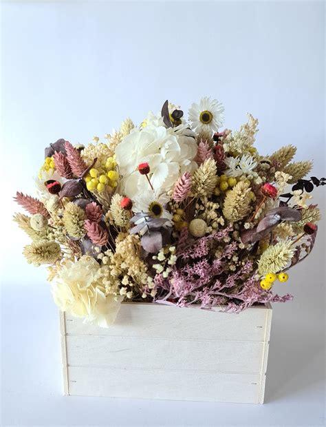 Centro Coralle flores preservadas y secas | Flores Akita ...