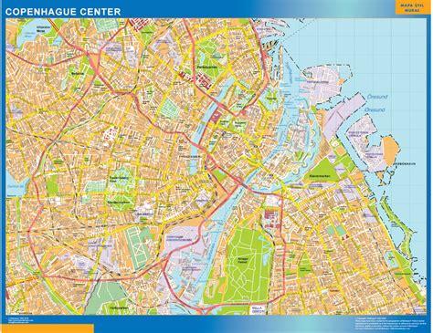 Centro De Copenhague Mapa