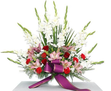 Centro de Flores Funebre   Centro de flores variadas para ...