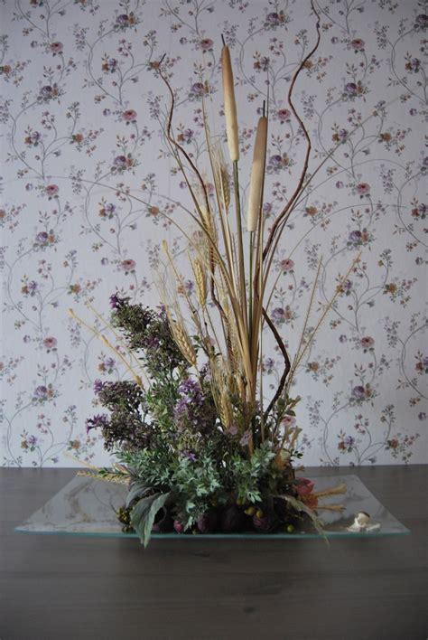 Centro de mesa, con flores secas. | Flores secas, Arreglos ...