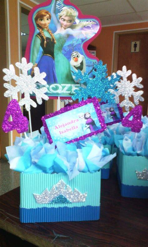 centro de mesa para fiesta infantiles frozen decoracion S ...
