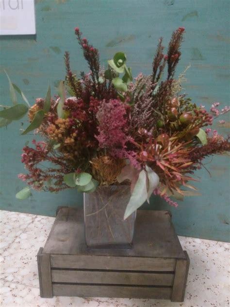 Centro decorativo con flores secas | defloresalnatural