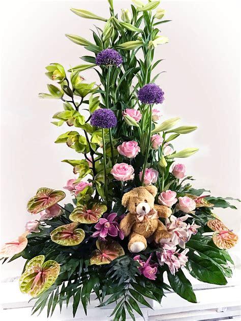centro flores rosas dia de la madre   Flores Fela   Flores ...