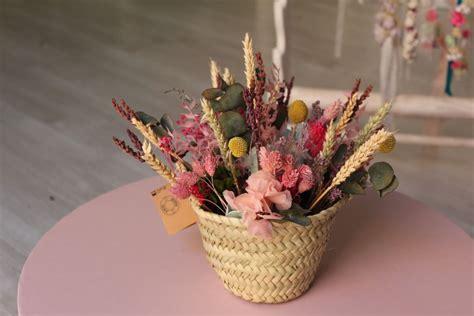 centro flores secas colorido   Floristería Tornasol ...