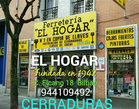 CERRAJERIA cerraduras Bilbao EL HOGAR