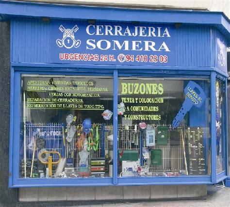 CERRAJERIA SOMERA: SERVICIOS CERRAJERIA