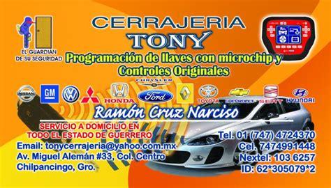 Cerrajeria  Tony  cerrajero en CHILPANCINGO DE LOS BRAVO ...