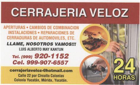Cerrajeria Veloz   Mérida