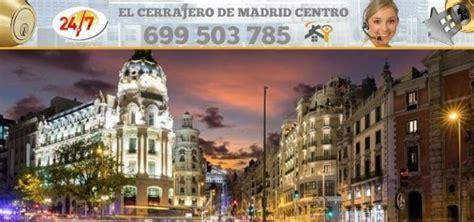 Cerrajeros en Madrid Centro ֍ BARATOS Y RÁPIDOS ֍ 699503785