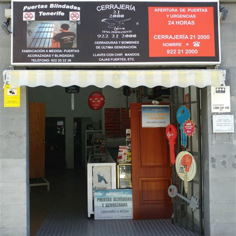 Cerrajeros en Tenerife Tlf. 669 49 33 49   Cerrajería 21 2000