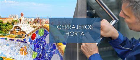 Cerrajeros Horta 24h economicos baratos   CerrajeroPRO