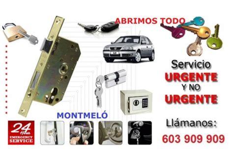 Cerrajeros Montmelo 603 909 909 serrallers