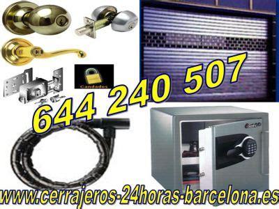 CERRAJEROS URGENCIAS 24 HORAS BARCELONA 644.240.507 ...