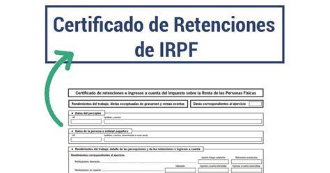Certificado de retenciones en España: qué es, para qué ...