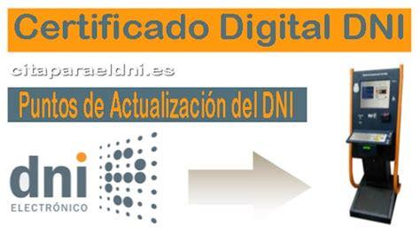 Certificado Digital DNI   Cita para el DNI