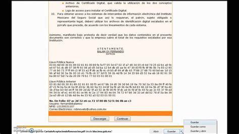CERTIFICADO DIGITAL IMSS....2015        YouTube