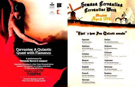 Cervantes: A Quixote Quest with Flamenco  | Que es el ...