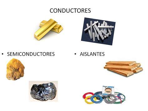 Cesar 2G: Tabla de conductores,semiconductores y aislantes