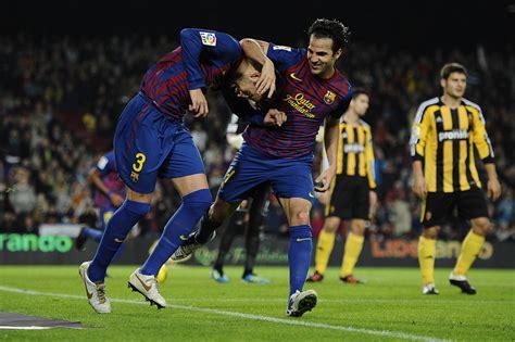 Cesc Fabregas in FC Barcelona v Real Zaragoza   Liga BBVA ...