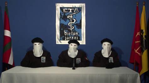 Cese definitivo de su actividad armada  de ETA ...